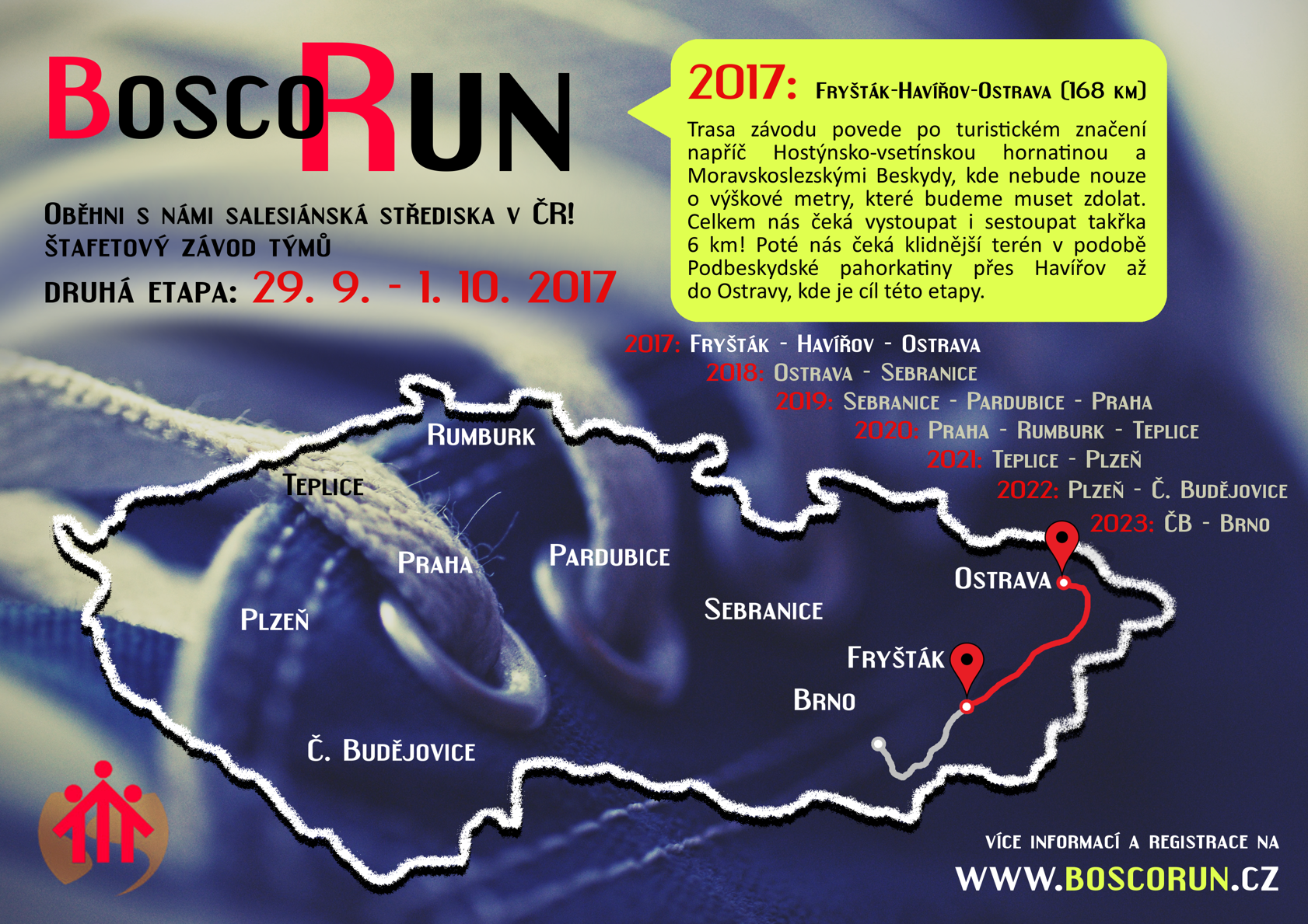 Bosco run 2017 plakat